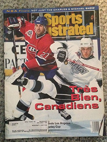 SPORTS ILLUSTRATED JUNE 14, 1993 TRES BEIN CANADIENS EX