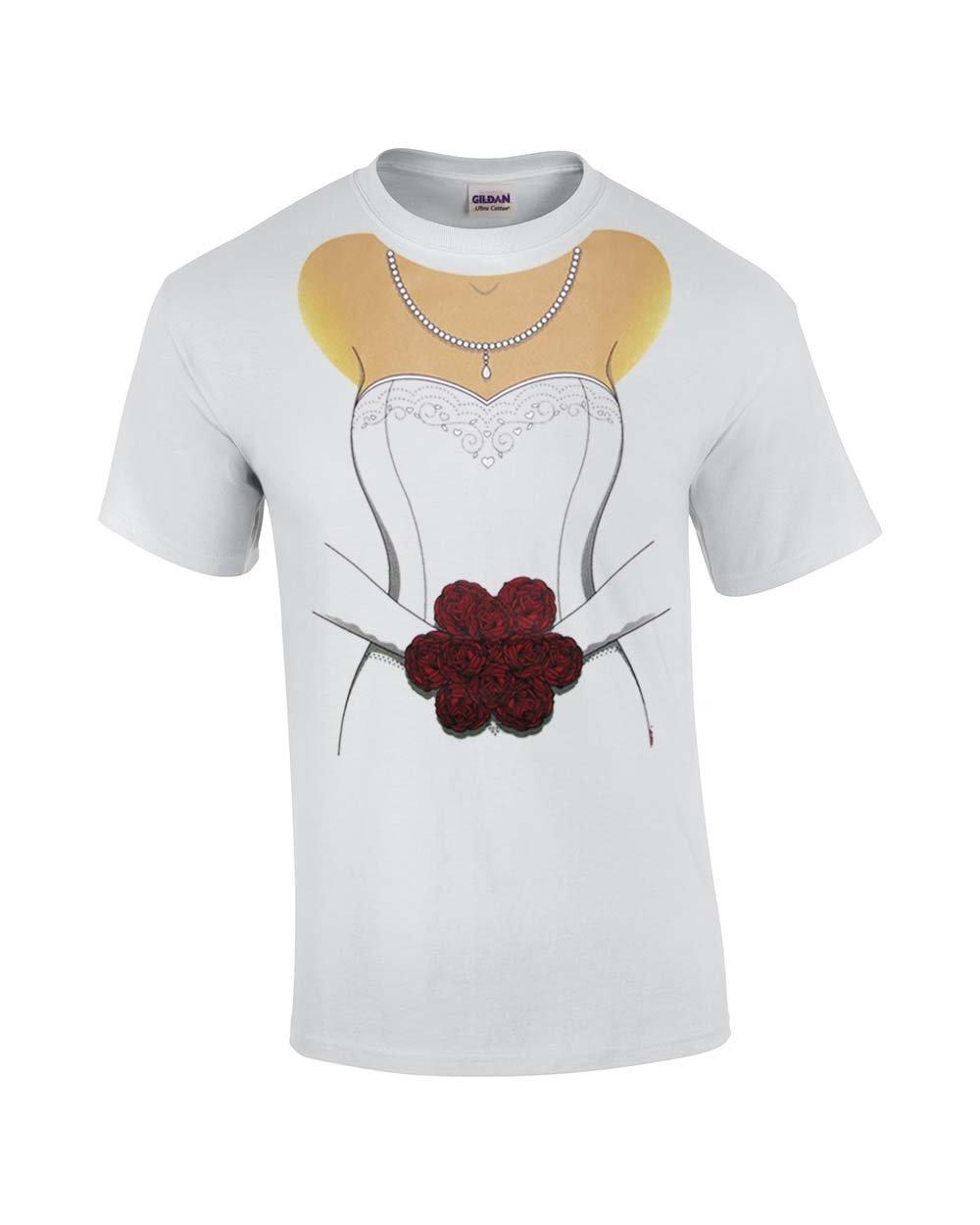 Bride T-Shirt Full Body Design Bachelorette Tee-medium