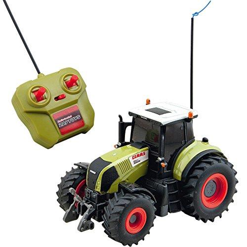 Ferngesteuerter Traktor, Claas Axion 850, Maßstab 1:28, 26 cm: RC Ferngesteuert Fahrzeug Spieltrecker Trecker Schlepper