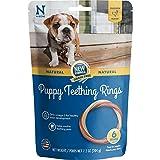 N-Bone 113062 Teething Ring Grain Free Chicken Flavor Chew Treat, Medium