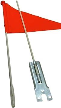 Land-Haus-Shop - Banderín de seguridad para bicicleta infantil ...