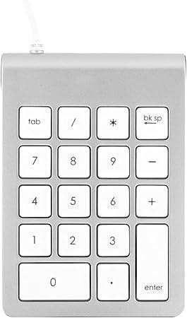 Satechi Teclado Numérico USB, Acabado Aluminio