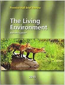 Prentice Hall Brief Review Science 2019 New York Living Environment Student Edition Grade 9 12 9781418292164 Amazon Com Books