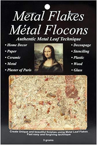 Speedball Mona Lisa Variegated Metal Flakes, 3-Gram Pack