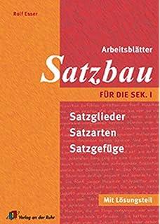 Arbeitsblätter Grammatik für die Sek.I: Mit Lösungsteil: Amazon.de ...