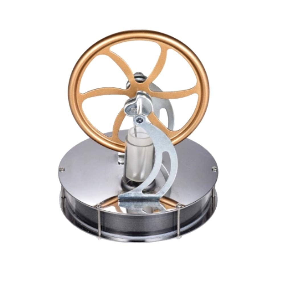 At27clekca Low Temperature Stirling Engine Model Steam Machine Science Educational Toy Electricity Generator by At27clekca (Image #2)