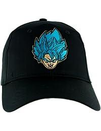 Dragon Ball Z Goku Super Saiyan Blue Hat Baseball Cap Alternative Clothing Anime