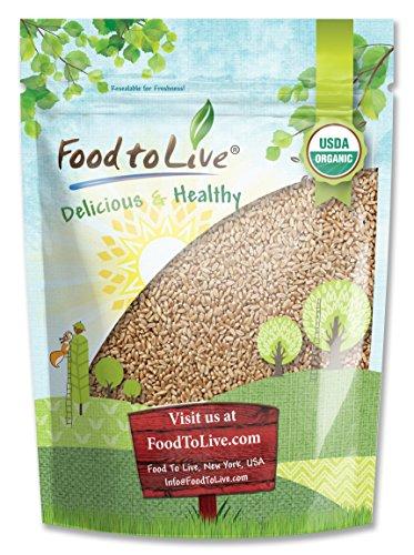 Food to Live Organic Wheat Berries (Kosher) (1 Pound)