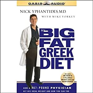 My Big Fat Greek Diet Audiobook