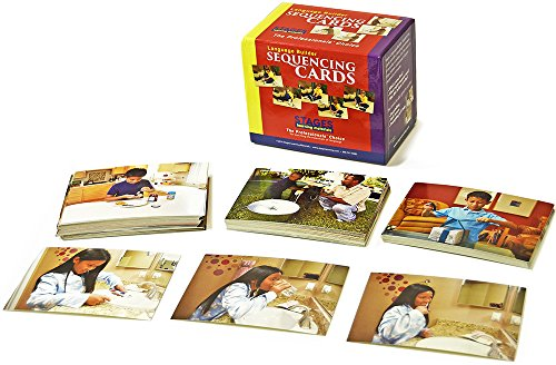 Stages Learning Materials Language Builder Sequencing Flash Cards Photo Action And Self-Help Skills Sequence Cards For Autism Education