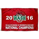 Washington St. Louis Bears 2016 Division III Womens Soccer Champions Flag