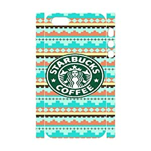 iphone 5 5S 3D Custom Cell Phone Case Starbuck Coffee Case Cover WWFL36578