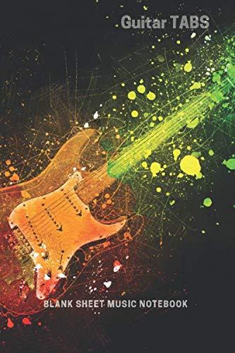 Guitar TABS   Blank Sheet Music -