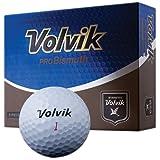 Volvik ProBismuth 3-piece Golf Ball (Pack of 12), White