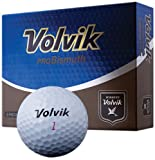 Volvik ProBismuth 3-piece Golf Ball (Pack of 12), White