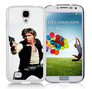 Popular And Unique Custom Designed Case For Samsung Galaxy S4 I9500 i337 M919 i545 r970 l720 With Han Solo White Phone Case