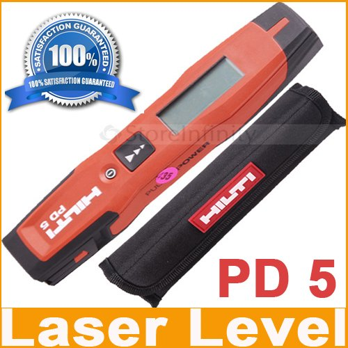 New HILTI PD5 Lase Range Meter