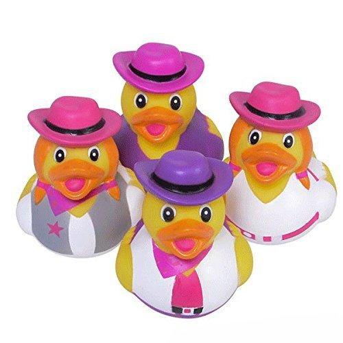 Cowgirl Rubber Ducks - 12 pc