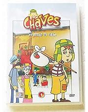 DVD CHAVES EM DESENHO ANIMADO VOLUME 1,2,3