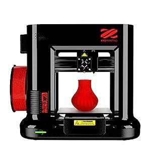 XYZprinting da Vinci Mini Wireless 3D Printer ~ 6″x6″x6″ Built Volume (Includes: 300g PLA Filament, 3D Design eBook, Maintenance Tools, XYZmaker Cad 3D Software, Plastic Enclosure, PLA/Tough PLA/PETG)