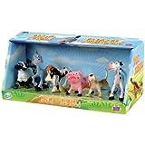 Grandi Giochi GG30021 - Set Animali Fattoria, 6 Pezzi