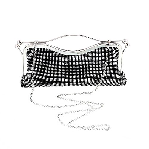 Double Grab Top Versatile Tote Lock Womens Damara Evening Silver Side 5nwOqAYv
