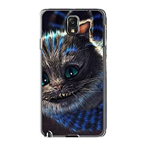 Shock Absorption Hard Phone Cover For Samsung Galaxy Note 3 With Support Your Personal Customized Lifelike Cheshire Cat Series JacquieWasylnuk