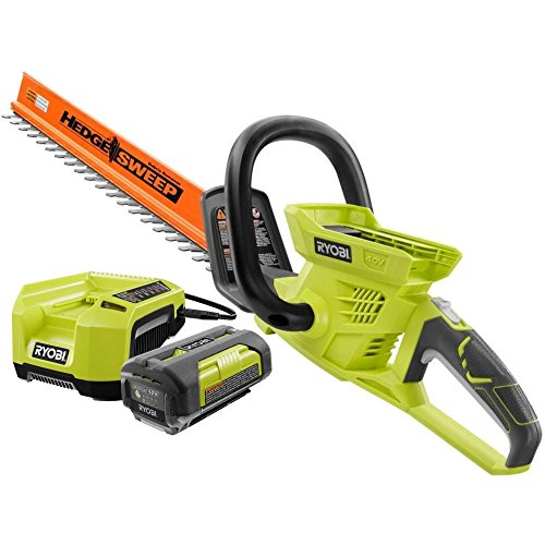 Ryobi RY40610 24 in. 40-Volt Lithium-ion Cordless Hedge Trimmer Kit ZRRY40610 Reconditioned by Ryobi