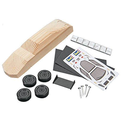 Revell Sports Car Racer Kit Pinewood Derby Vehicle Kit
