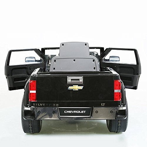electric vehicles rollplay chevy silverado 6 volt battery. Black Bedroom Furniture Sets. Home Design Ideas