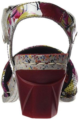 Mujer Tobillo Enjoy Fantasy Para De flowers I Colores Art 1120 Varios Correa Sandalias Con UvatZ84W