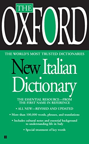 Lightweight Italian - The Oxford New Italian Dictionary: The Essential Resource, Revised and Updated