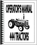 International Harvester 444 Tractor Operators Manual