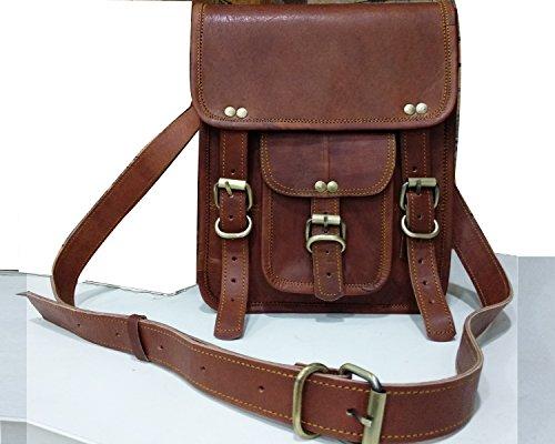 Leather bag Fair Deal / leather ipad bag / leather shoulder bag / leather ipad messenger bag / unisex bag / Cross body bag / handmade leather bag / brown bag  (Best Ipad Deals In India)
