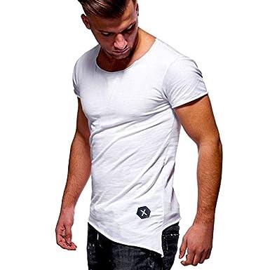 Camiseta Básica para Hombre Polo Verano De De Especial Estilo Tops ...