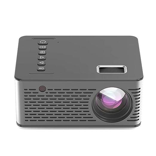 terferein Mini proyector de Video portátil UC26, HD LED Home ...