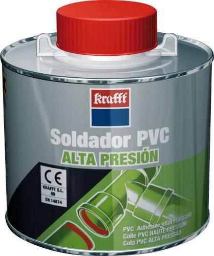 Krafft - Adhesivo/a soldar/ado pvc alta presión con pincel(bote 500ml