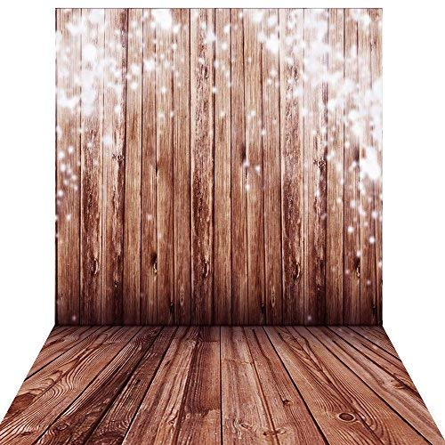 Andoer 1.5 x 2m Big Photography Background Backdrop Classic Fashion Wood Wooden Floor for Studio Professional Photographer ()