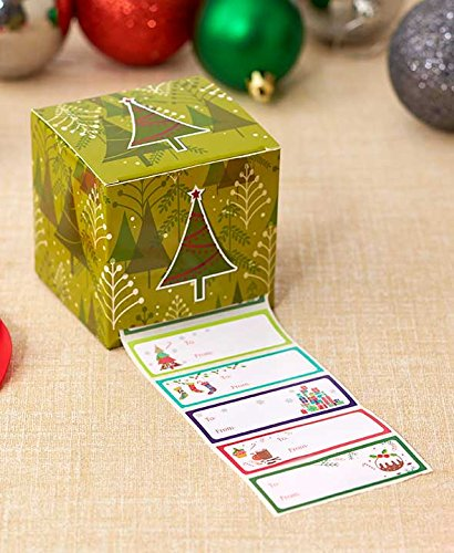 The Lakeside Collection 1,000-Pc. Boxed Holiday Gift Tags Green Tree