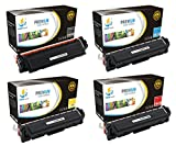 Catch Supplies Compatible Toner Cartridge Replacement for HP CF410X ( Black,Cyan,Magenta,Yellow , 4-Pack )