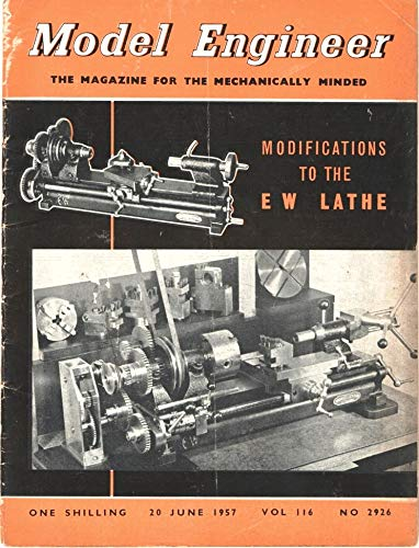 Model Engineer: 20 June 1957, Volume 116, Number 2926 - Modifications to the EW Lathe ()