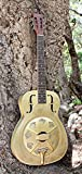 Imperial Palmulator Brass Body Resonator Guitar with Tropical Engraving