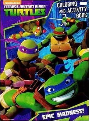 Teenage Mutant Ninja Turtles Coloring & Activity Book Epic ...