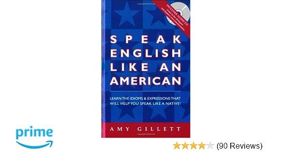 Amazon com: Speak English Like an American (Book & Audio CD set