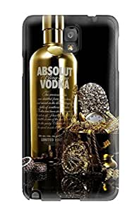Note 3 Scratch-proof Protection Case Cover For Galaxy/ Hot Absolut Vodka Phone Case