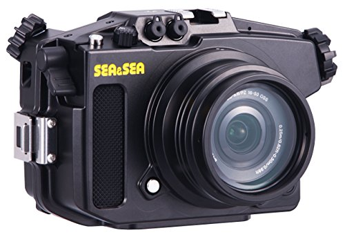 Sea and Sea MDX-a6000 Housing W/ ML Flat Port by Sea & Sea
