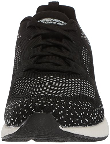 Bkgy Sneaker black Nero Skechers Sauce awesome Squad Donna Bobs Grey axWCvqfR