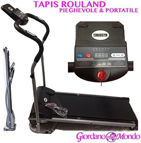 Tapis Roulant eléctrico Plegable Salvaspazio portátil Profesional ...