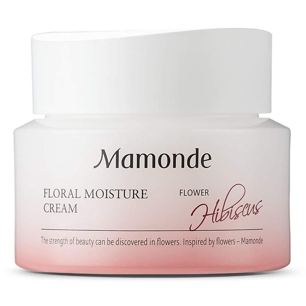Mamonde Floral Moisture Cream Daily Facial Face Moisturizer Treatment, 1.69 Fl Oz