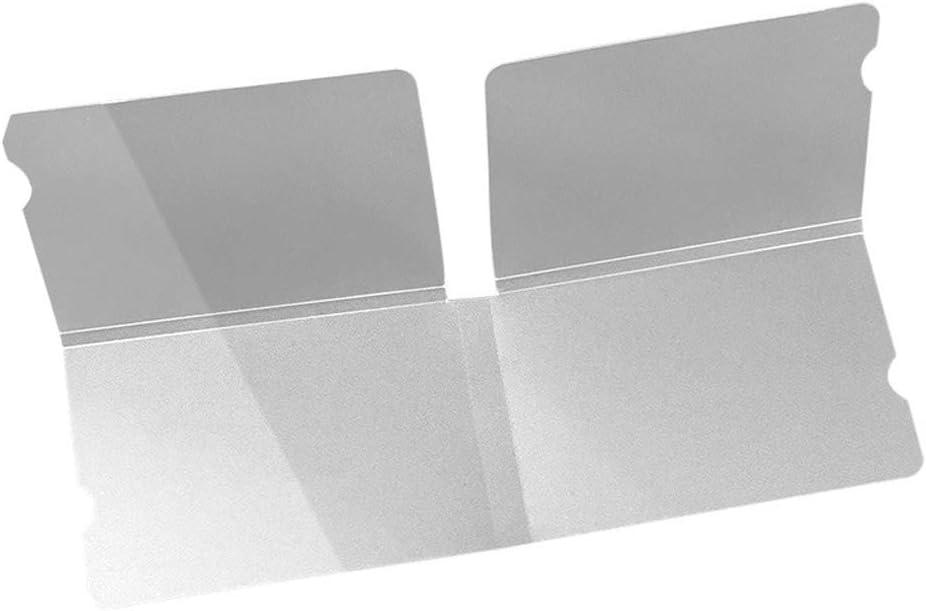 TOHHOT Clip de Almacenamiento de máscara Clip de Almacenamiento de Reciclaje portátil Cubierta de Cara Contenedor Carpeta Temporal Caja Protectora